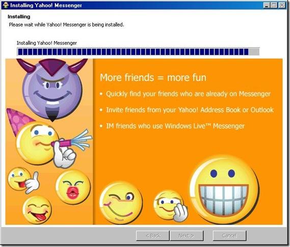 Yahoo-install-hang